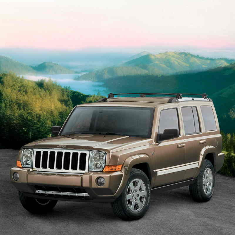The 2006 Jeep Commander Earns Top Government Safety Rating From NHTSA
