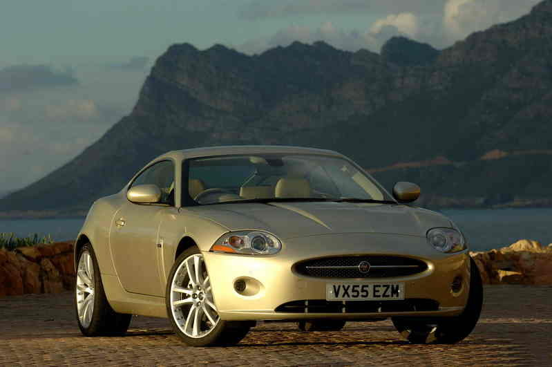 "The new Jaguar XK, winner of what car? ""most exciting car to be launched in 2006"" award"