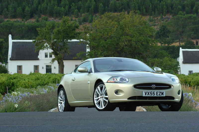 The new JAGUAR XK, winner of the what car? 'most exciting car to be launched in 2006' award