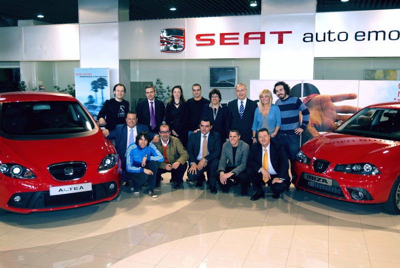The New SEAT Ibiza will be on the road with La Oreja de Van Gogh