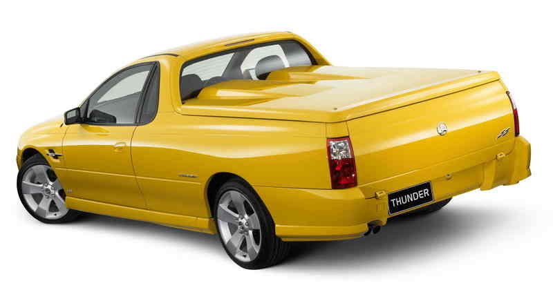 2006 Holden Thunder Ute and Crewman