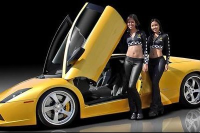 Babes and Lamborghini