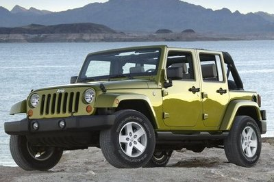 Buried Under Six Tons of Mud - 2007 Jeep Wrangler Unlimited Revealed in New York