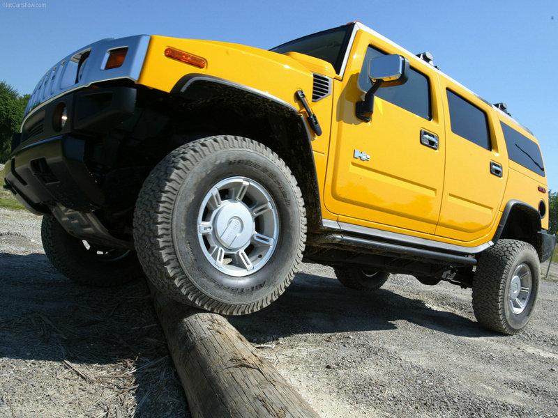 Hummer - the Official Vehicle of the NFL Draft
