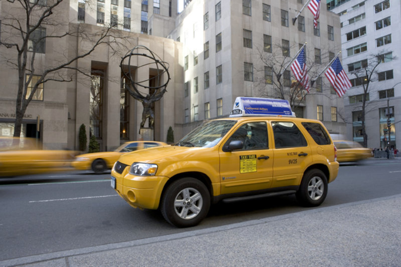 Hybrid Taxi For The People Of New York And San Francisco