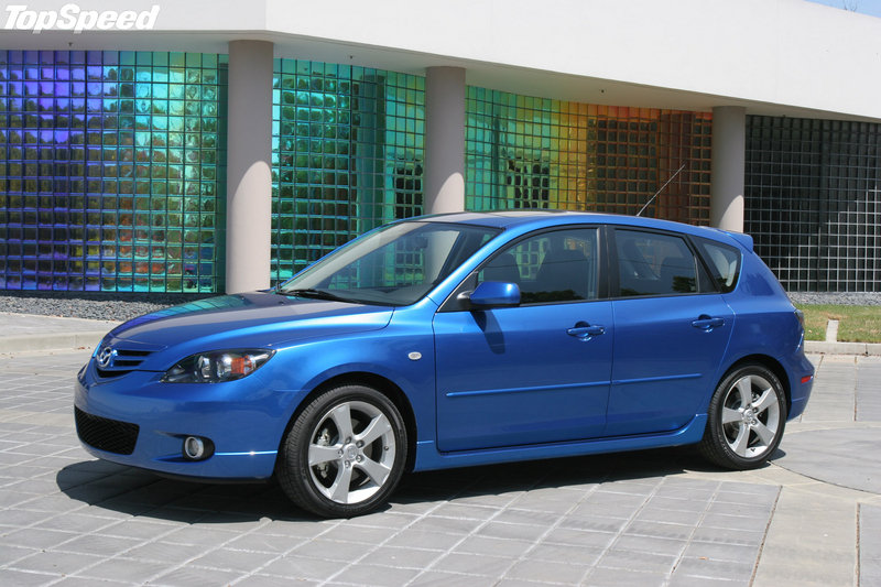 MazdaSpeed3 made its debut at the 2006 New York International Auto Show
