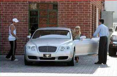 Paris Hilton offered chance to win back her Bentley