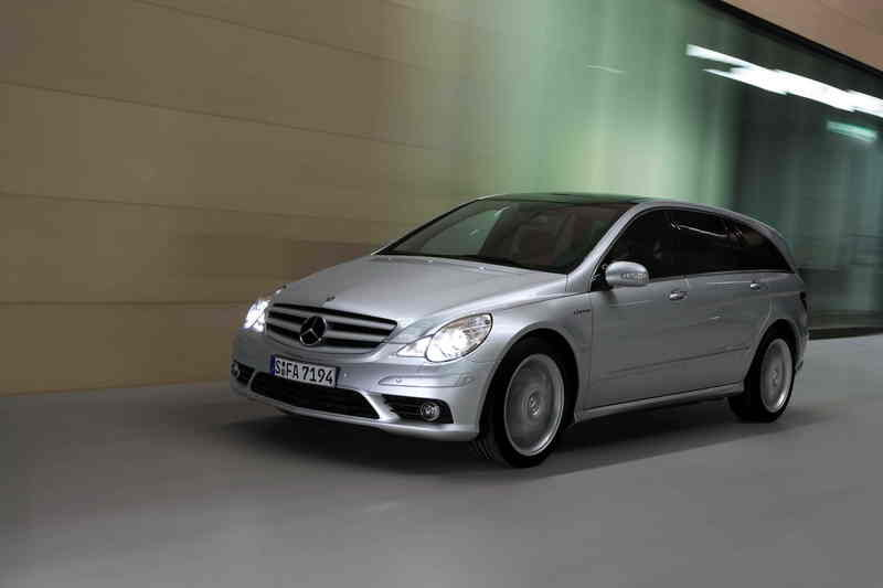 R-Class from Mercedes stalls in USA