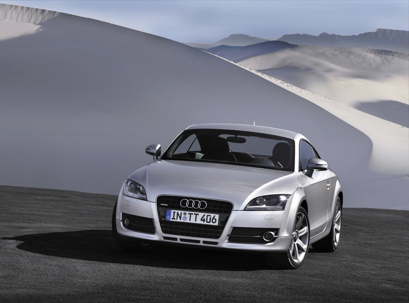 The all-new Audi TT in fashion in the New York