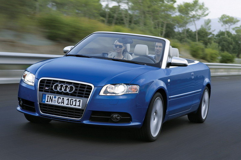 The new 2007 AUDI A4 and S4 cabriolet at New York Auto Show
