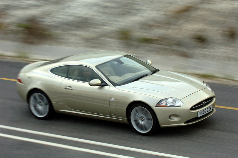 The new Jaguar XK - most exciting car to be launched in 2006