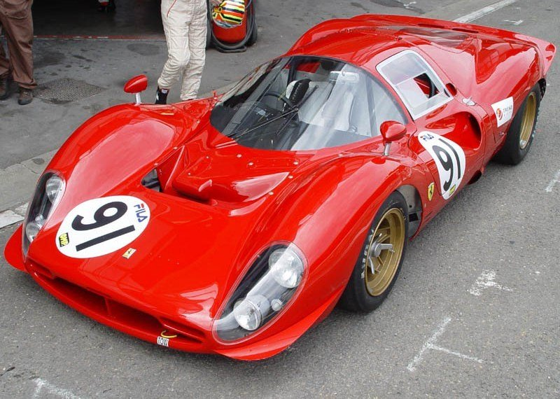1966 - 1967 Ferrari 330 P3 one of the most beautiful race cars in the world
