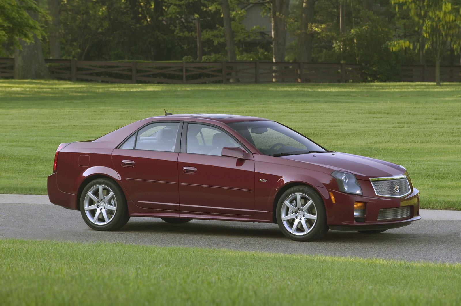 2006 cadillac cts v picture 64432 car review top speed. Black Bedroom Furniture Sets. Home Design Ideas