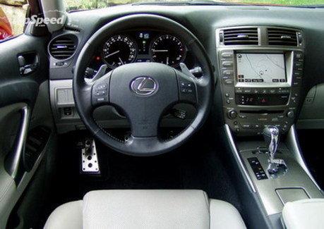 Lexus IS350. These and other features available on the new IS,