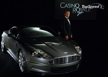 2008 Aston Martin Dbs Racing Green. aston-martin dbs casino royale