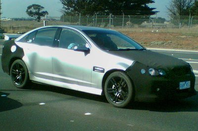 2007 Holden Commodore spied in Australia