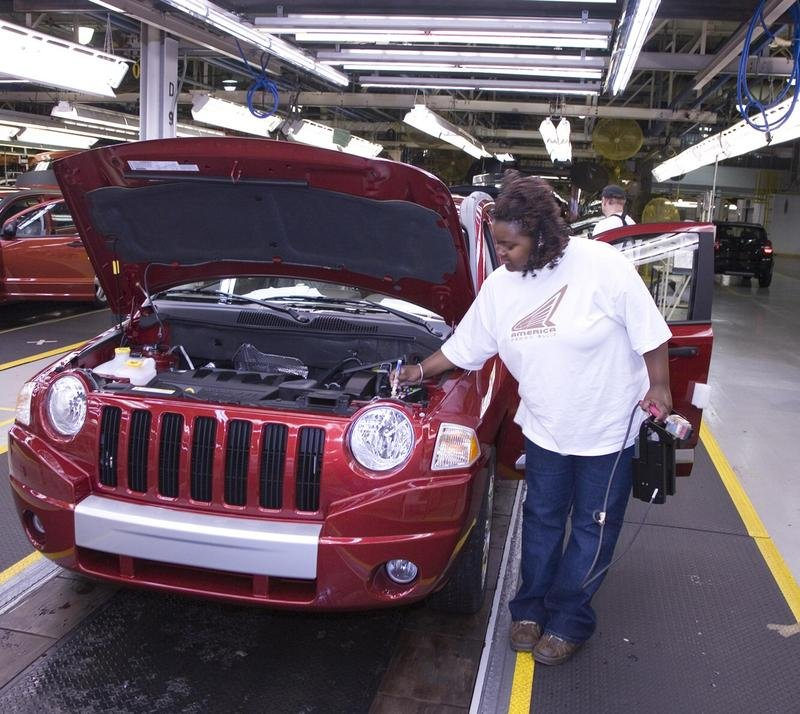 2007 Jeep Compass production started at Belvidere Assembly Plant
