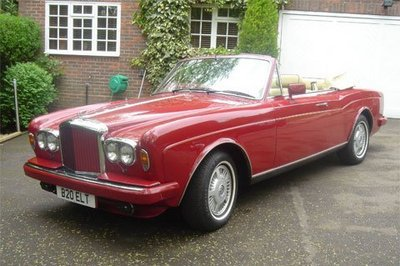 Elton Jhon's Bentley up for sale