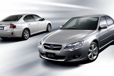 Subaru Legacy and Outback facelift