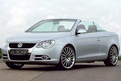 Volkswagen Eos upgraded by Je Design