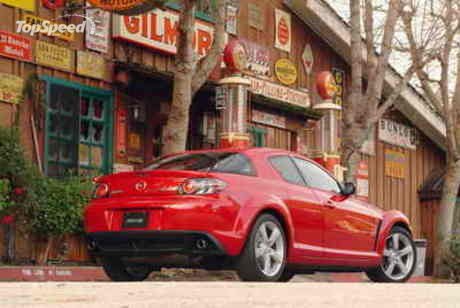 for mapping the entire United States and portions of Canada. Mazda RX-8