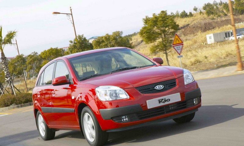 2006 Kia Rio/Rio5 Ranked Highest in Sub-compact Car Category