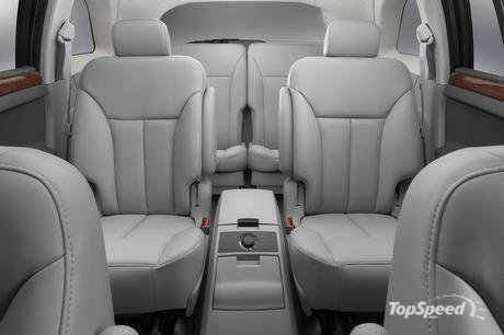 The Chrysler Pacifica interior follows the same clean, sculptured,