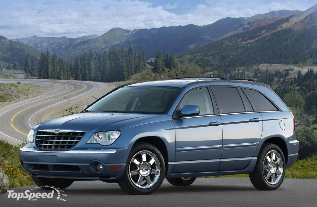 chrysler pacifica 2007. Cars Review. Best American Auto & Cars Review