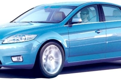 2007 Ford Mondeo - first undisguised images