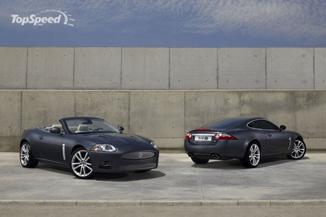 Jaguar claims it's enough power to help propel the XKR coupe from 0 to 60