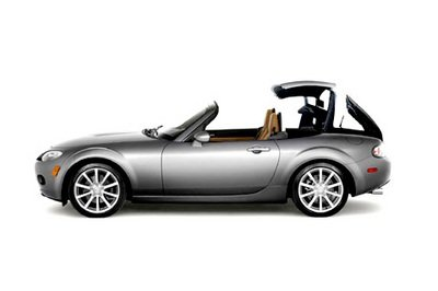 2007 Mazda MX-5 Roadster Coupe Preview
