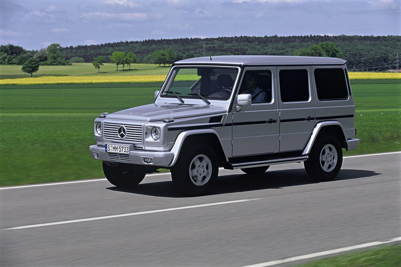 2007 mercedes g class review gallery top speed for Mercedes benz g500 review