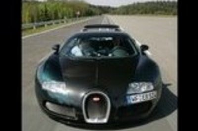 Bugatti Veyron - record time at the Autocar's annual 0-100-0mph contest