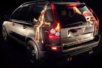 Volvo digs deep with Pirates for buried Volvo XC90