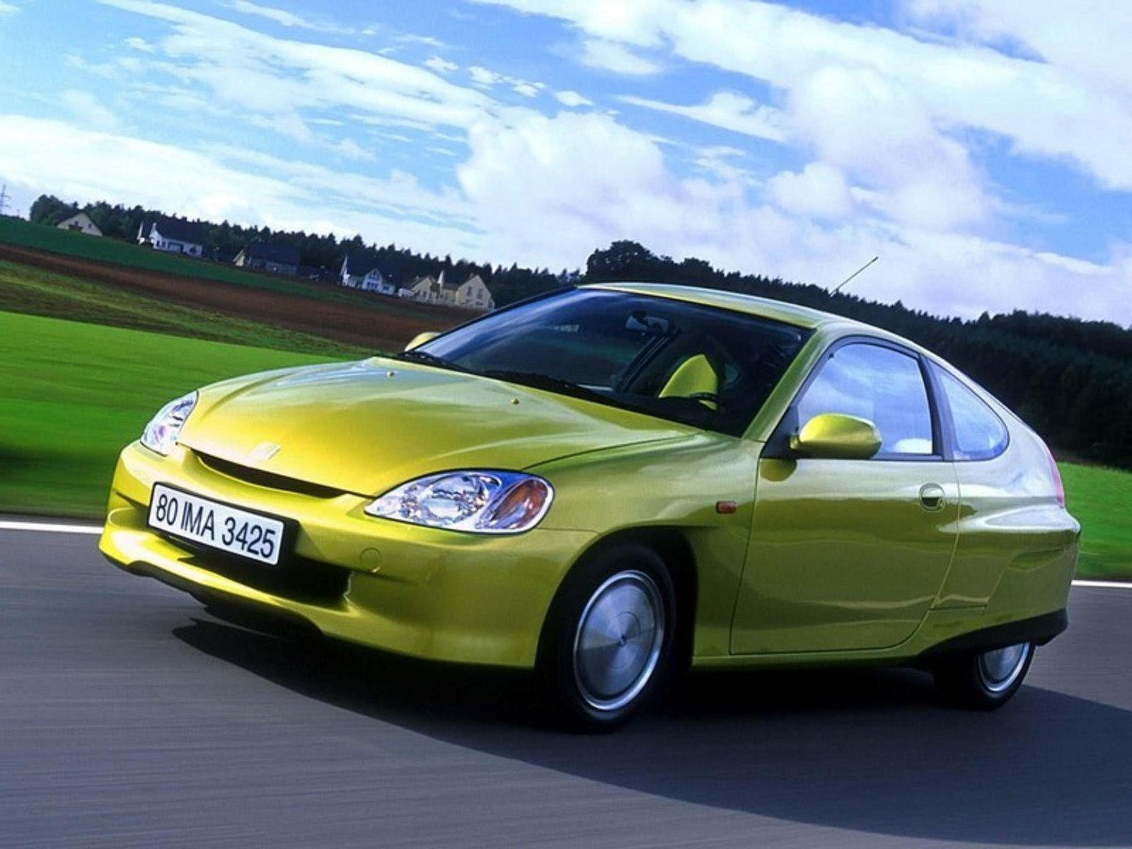 2000 - 2006 Honda Insight Review - Top Speed