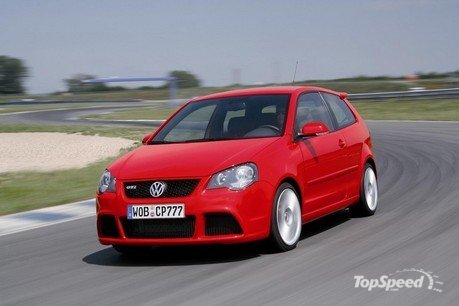 volkswagen polo gti cup edition. Most powerful production series Polo offers