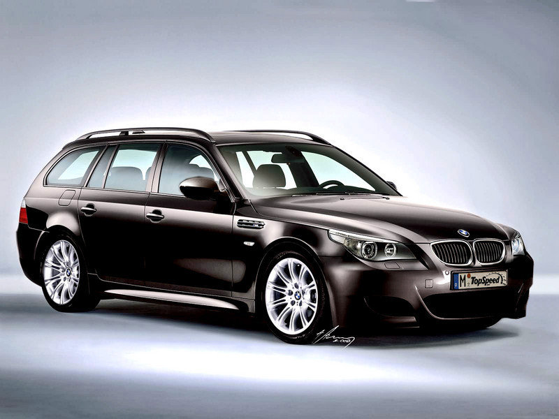 2007 BMW M5 Touring preview