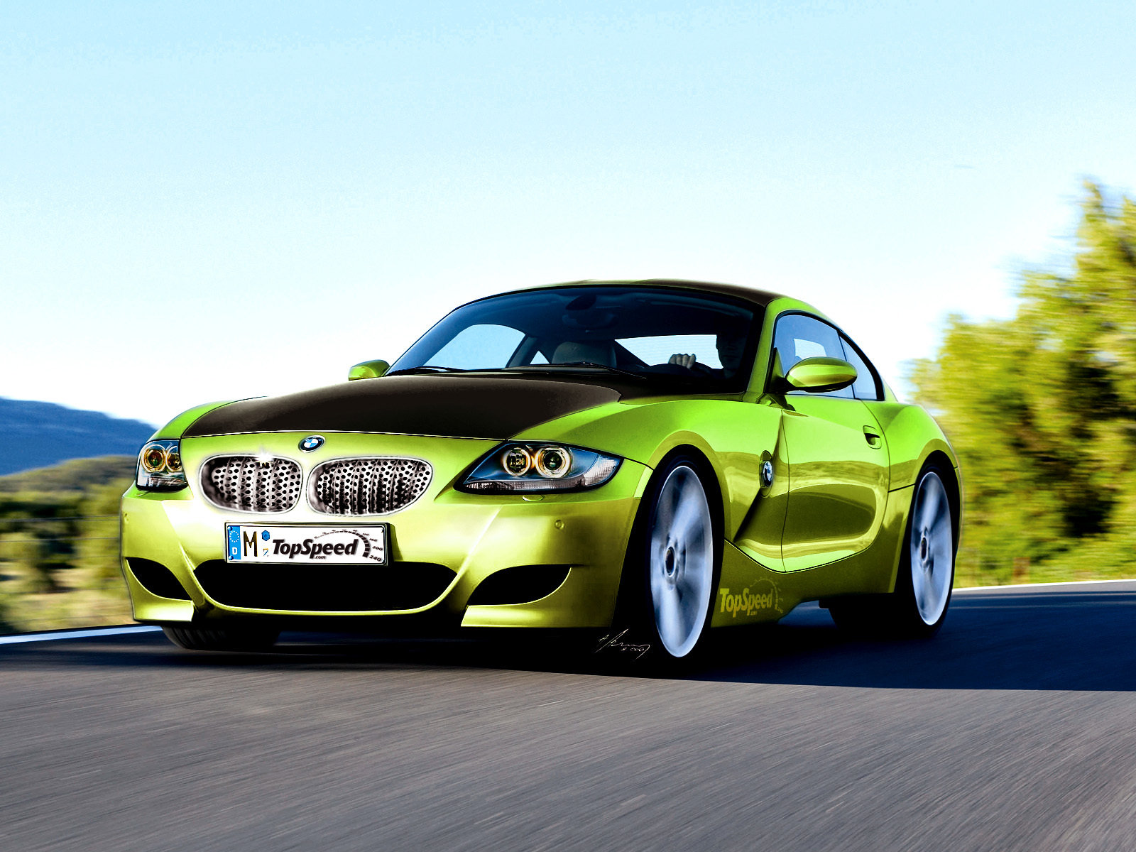2007 Bmw Z4 M Coupe Picture 86185 Car Review Top Speed