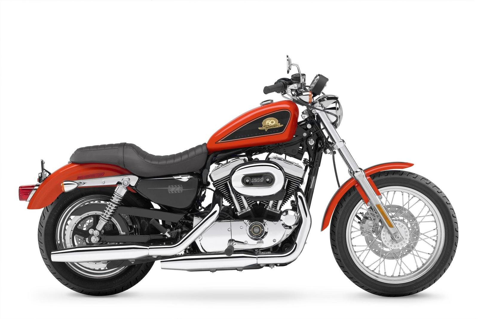 2007 Harley-Davidson 50th Anniversary Sportster Review