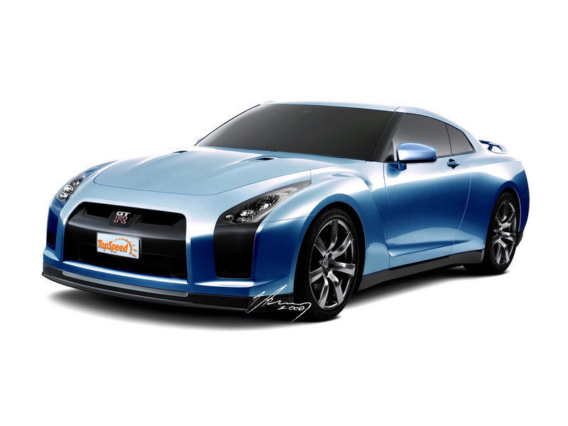 2007 Nissan (Skyline) GT-R preview