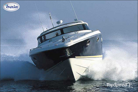 Baia Azzurra 63 is one of the most popular open express cruisers on the ...