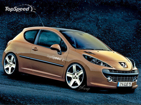 peugeot 207 gti tuning. Black Bedroom Furniture Sets. Home Design Ideas