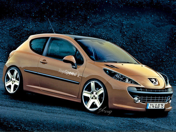 peugeot 207 compact tuning imagui. Black Bedroom Furniture Sets. Home Design Ideas