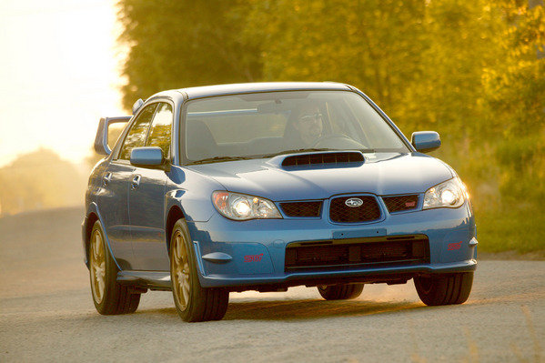 2006 subaru impreza wrx sti car review top speed. Black Bedroom Furniture Sets. Home Design Ideas