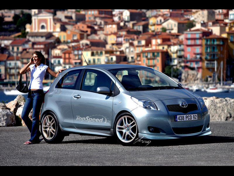 toyota yaris news and reviews top speed. Black Bedroom Furniture Sets. Home Design Ideas