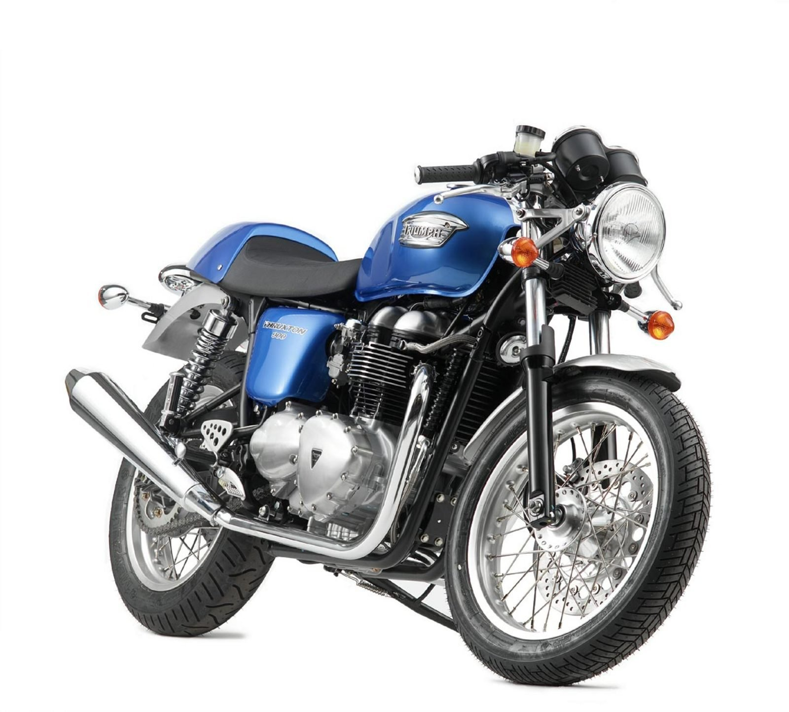 2006 triumph thruxton 900 review top speed. Black Bedroom Furniture Sets. Home Design Ideas