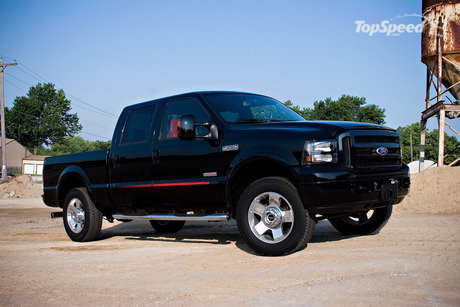 All F-250 Super Duty model includes driver and front passenger air bags,
