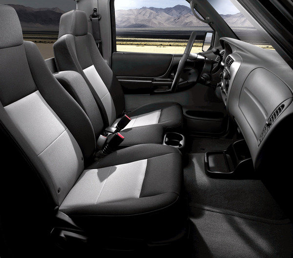 1998 Ford Ranger Super Cab Interior: Car Review @ Top Speed