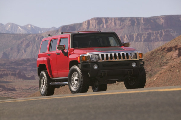 2007 Hummer H3 Review - Top Speed
