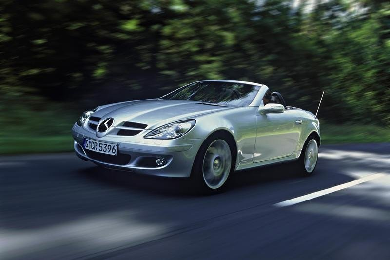 2007 mercedes benz slk class sports package review top speed. Black Bedroom Furniture Sets. Home Design Ideas